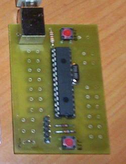 PIC18F2550 board