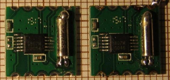 FM radio with RDA5807M and ATmega328P microcontroller